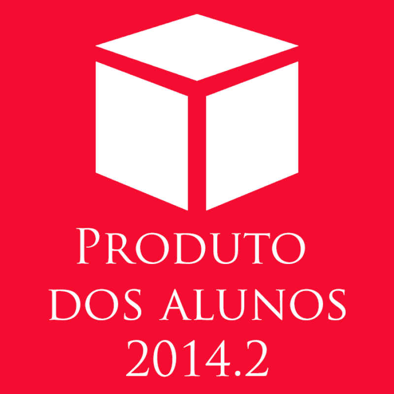 produtos dos alunos 2014.2